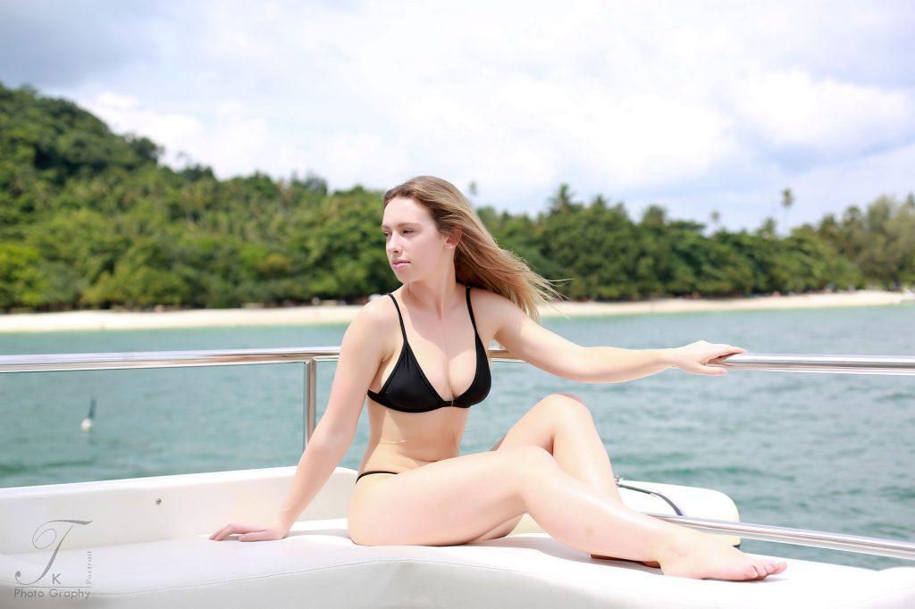vacation on Yacht at phuket