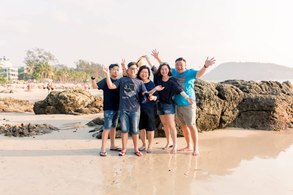 family photographer at phuket