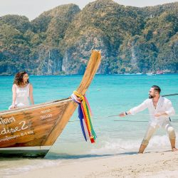 Couples sweet @ longbeach phiphi island