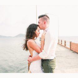 Michael + Nikita Couples Romantic On the beach.